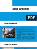 CONCRETOs Especiales Ppt (2)