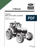 8670-8970 Operators Manual