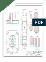 Plano de pieza mecanica