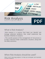 Risk Analysis Argana
