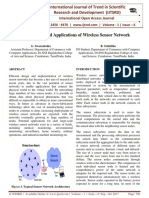 Design Issues and Applications of Wireless Sensor Network