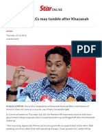 Khairy_ More GLCs May Tumble After Khazanah Shake-up - Nation _ the Star Online