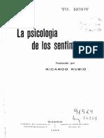 La Psicología de los Sentimientos..pdf
