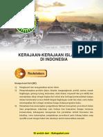 Bab 4 Kerajaan-Kerajaan Islam Awal Di Indonesia