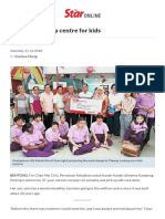 Donation to Help Centre for Kids - Nation _ the Star Online