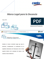 Marco Legal Docente Version 08-05-18