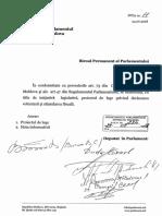 Proiectul legii privind declararea voluntară și stimularea fiscală