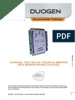 Duogen Documentation Technique