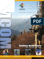IMCOM Safety Brochure, Fall-Winter 2010