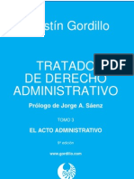 Tomo III - El Acto Administrativo