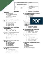 examen 8 s