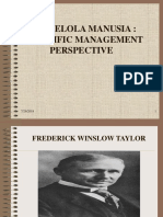 Sppm-13-Mengelola Manusia - Scientific Management Perspective