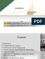 Logistics of Distribution