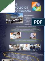 Plan de Desarrollo de Talento Humano