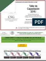 Taller Capacitacioxn CSG MAYO