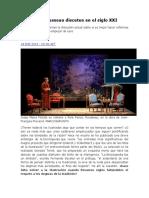 Voltaire y Rousseau Discuten en El Siglo XXI