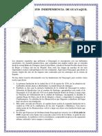 25 de Julio de 1538 Fundacion de Guayaquil