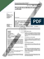 NBR 12246 - NB 1318 - Prevencao de Acidentes Em Espaco Confinado