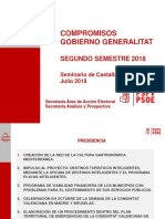 Compromisos Gva 2 Semestre 2018