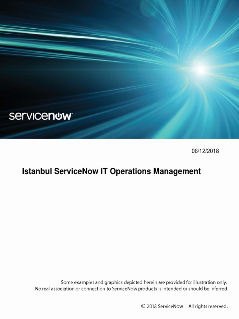 servicenow-istanbul-it-operations-management pdf | Port (Computer