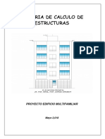 Memoria de Calculo Estructuras Cesar Mantilla