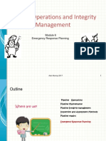 Module 6 Emergency Response Planning