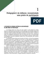 CASTRO, J. Relações Contemporâneas Escola Família