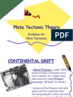 Plate Tectonic Theory REV