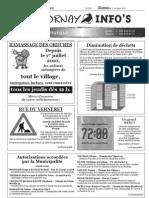 Chavornay Infos 1er octobre 2010