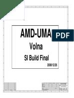 Compaq Presario 515 Inventec Volna Amd Uma - 6050a2258701 - Rev Ax1