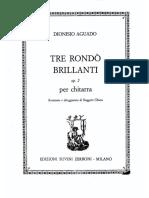 Dionisio Aguado - Tre Rondo Brillanti Op.2.pdf
