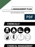 Chemical Management Plan