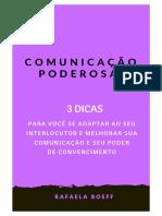 COMUNICAÇÃO PODEROSA - 3 DICAS