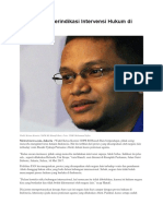 Pihak Asing Terindikasi Intervensi Hukum Di Indonesia