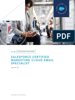 Sg Certified Marketing Cloud Email Specialist