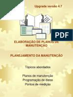 Manual PM Criação de  Planos de Manutenção versão 4.7.ppt