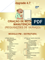Manual PM Criação de Notas de Manutenção versão 4.7.ppt