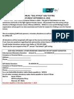 2018 Donation Flyer
