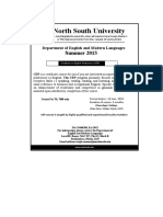 CEP Certificate Course