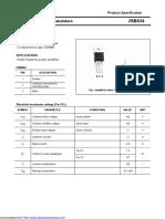 Transistor PNP - 2SB834
