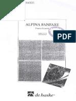 Alpina Fanfare - Cesarini (Full Score e Parts)