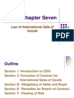 Chapter 7:CISG
