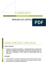 1 MERCADO DE CAPITALES