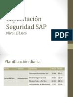 01. Capacitación Seguridad SAP - Básico - Día 1