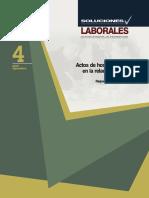 Actos de hostigamiento en la relación laboral.pdf