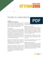 Guide to Resolutions (Ottawa Feb 2018)
