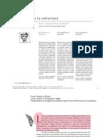 Del Síntoma a La Estructura (Neurosis y Psicosis)