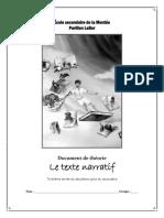 Texte Narratif Theorie de 5pdf