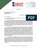 Melinda Mcgrath Letter to Tate Reeves