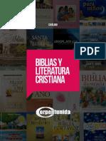 Catalogo Biblias y Literatura